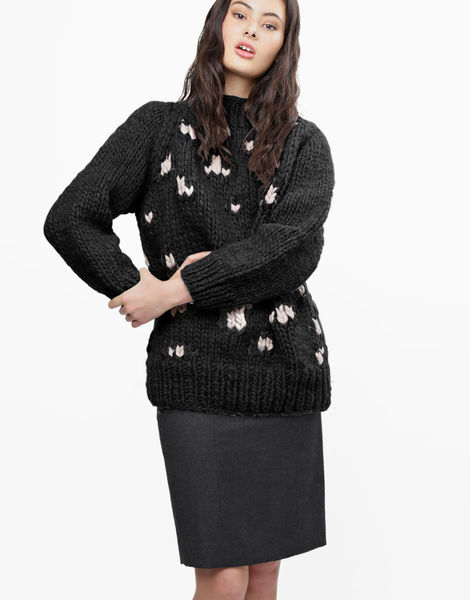 Jungle boogie sweater csw charcoal
