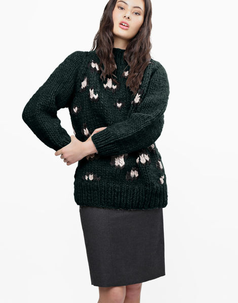 Jungle boogie sweater csw forest green