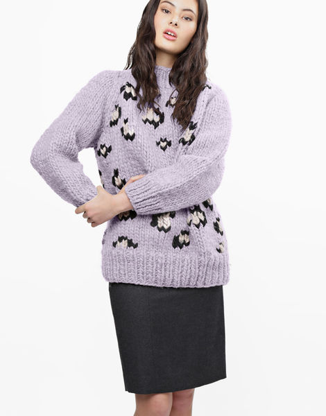 Jungle boogie sweater csw lilac powder