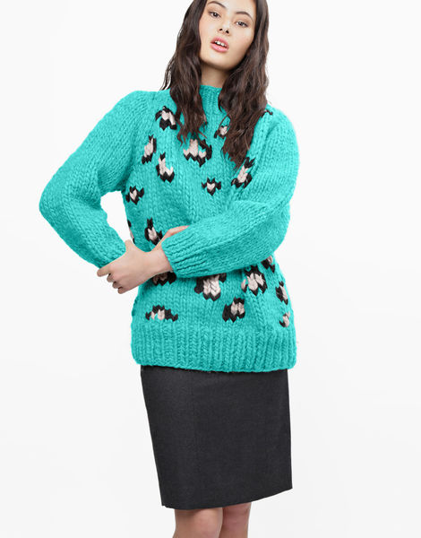 Jungle boogie sweater csw magic mint