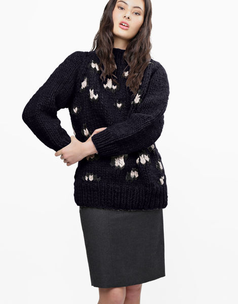 Jungle boogie sweater csw midnight blue