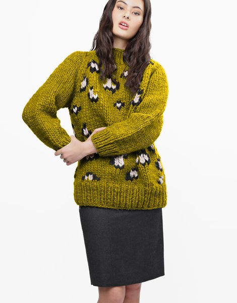 Jungle boogie sweater csw moss green