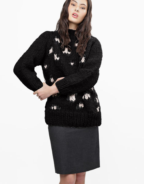 Jungle boogie sweater csw space black