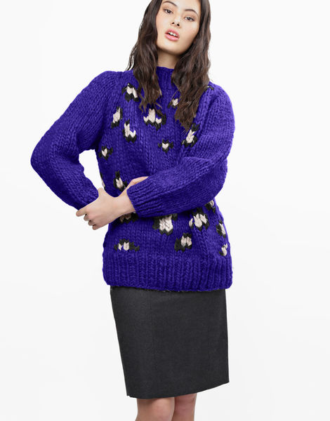Jungle boogie sweater csw ultra violet