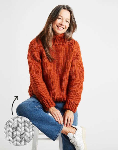 Eden jumper csw funfetti salt and pepper
