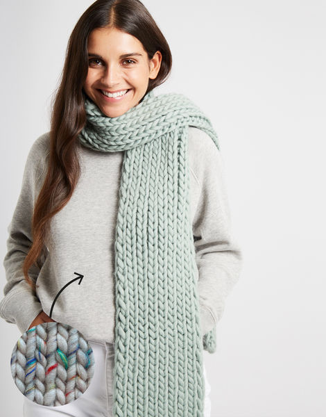 Whistler scarf csw funfetti primary grey