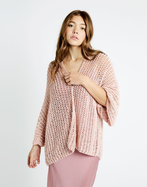Party in the cardigan tt cameo rose 01