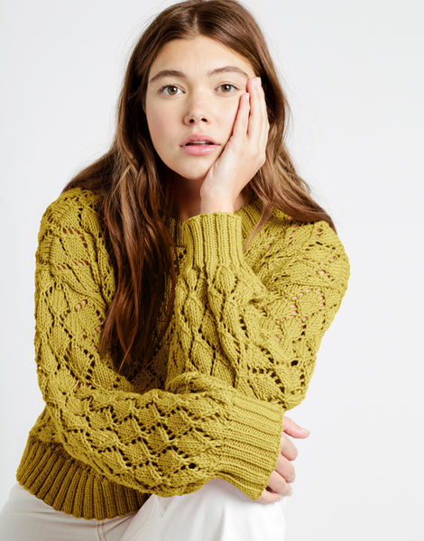 Cyrus sweater shc malibu 01 shc chalk yellow