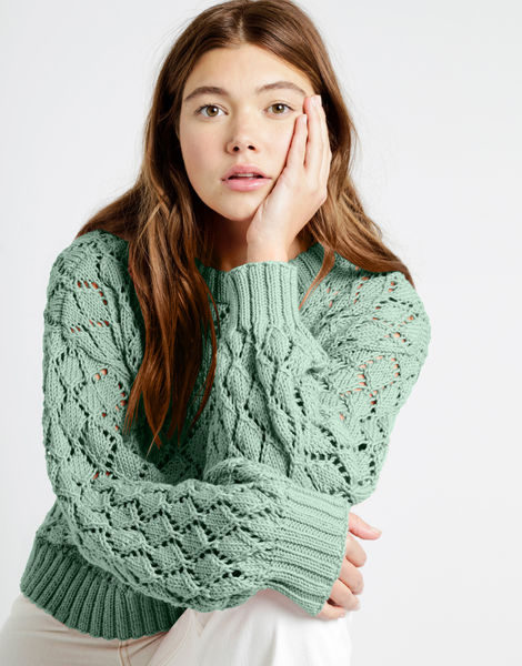 Cyrus sweater shc malibu 01 shc spearmint green