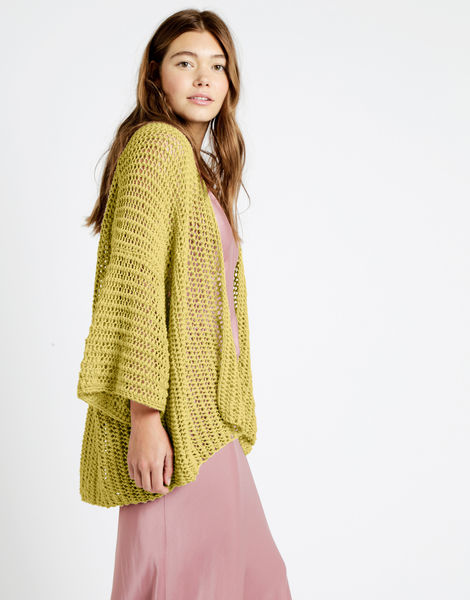 Party in the cardigan tt cameo rose 04 tt chalk yellow