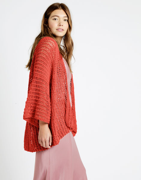Party in the cardigan tt cameo rose 04 tt  coral crush