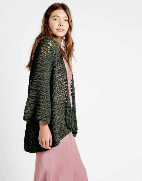 Party in the cardigan tt cameo rose 04 tt fern green