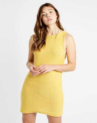 Rockaway dress shc yellow index