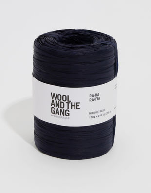 Ra ra raffia midnight blue