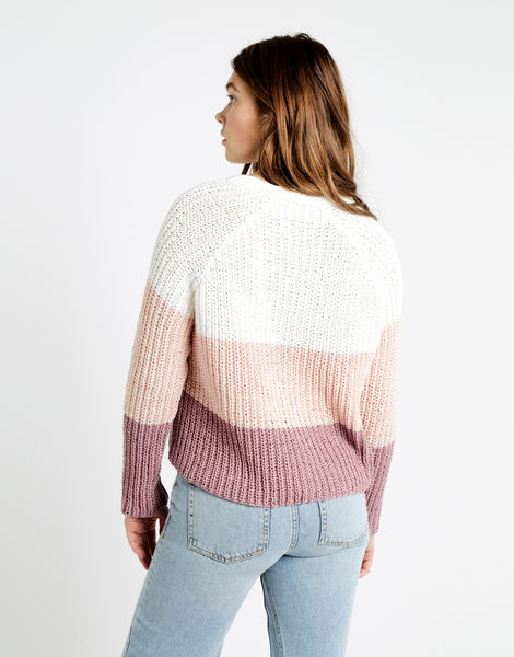 We can't sweater tt mauve combo 04