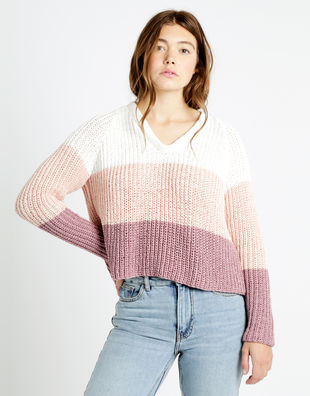 We can't sweater tt mauve combo 01