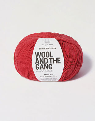 Buddy hemp yarn bhy bardot red