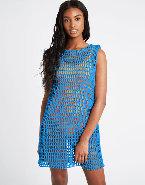 Peggy dress pistachio index buddy hemp riviera blue