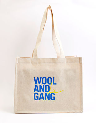 Wool and le gang tote bag 00