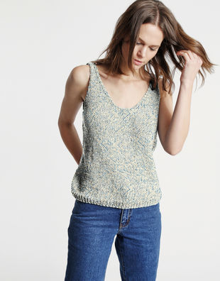 Farrah top billie jean bjy washed out denim