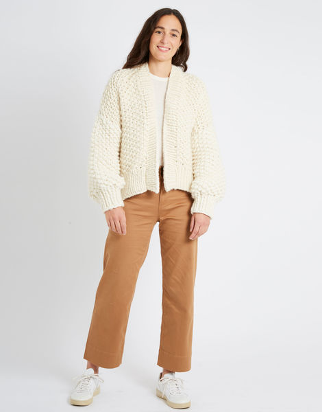 Iris cardigan csw ivory white index