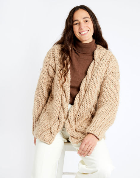 Robison cardigan csw blonde beige index