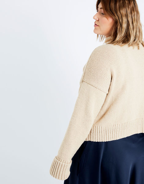 Holiday sweater sty beige 04