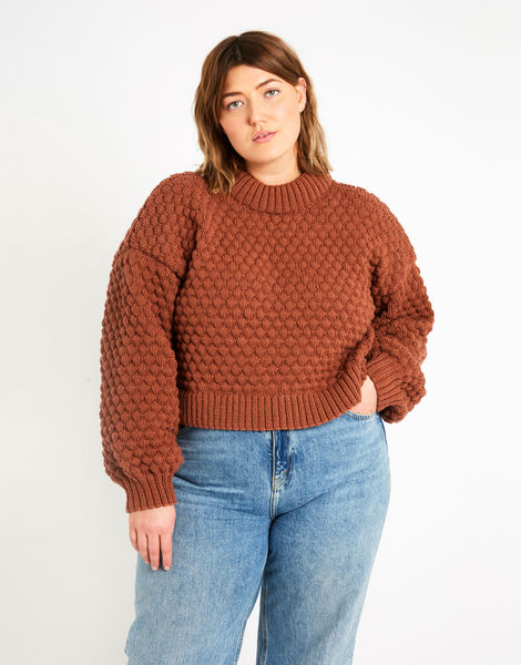Jasper sweater sty terracotta index