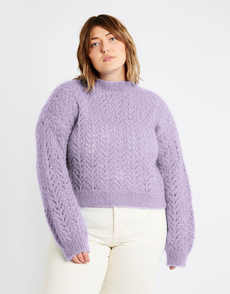 Toto sweater tcm mohair lovely lilac %281%29