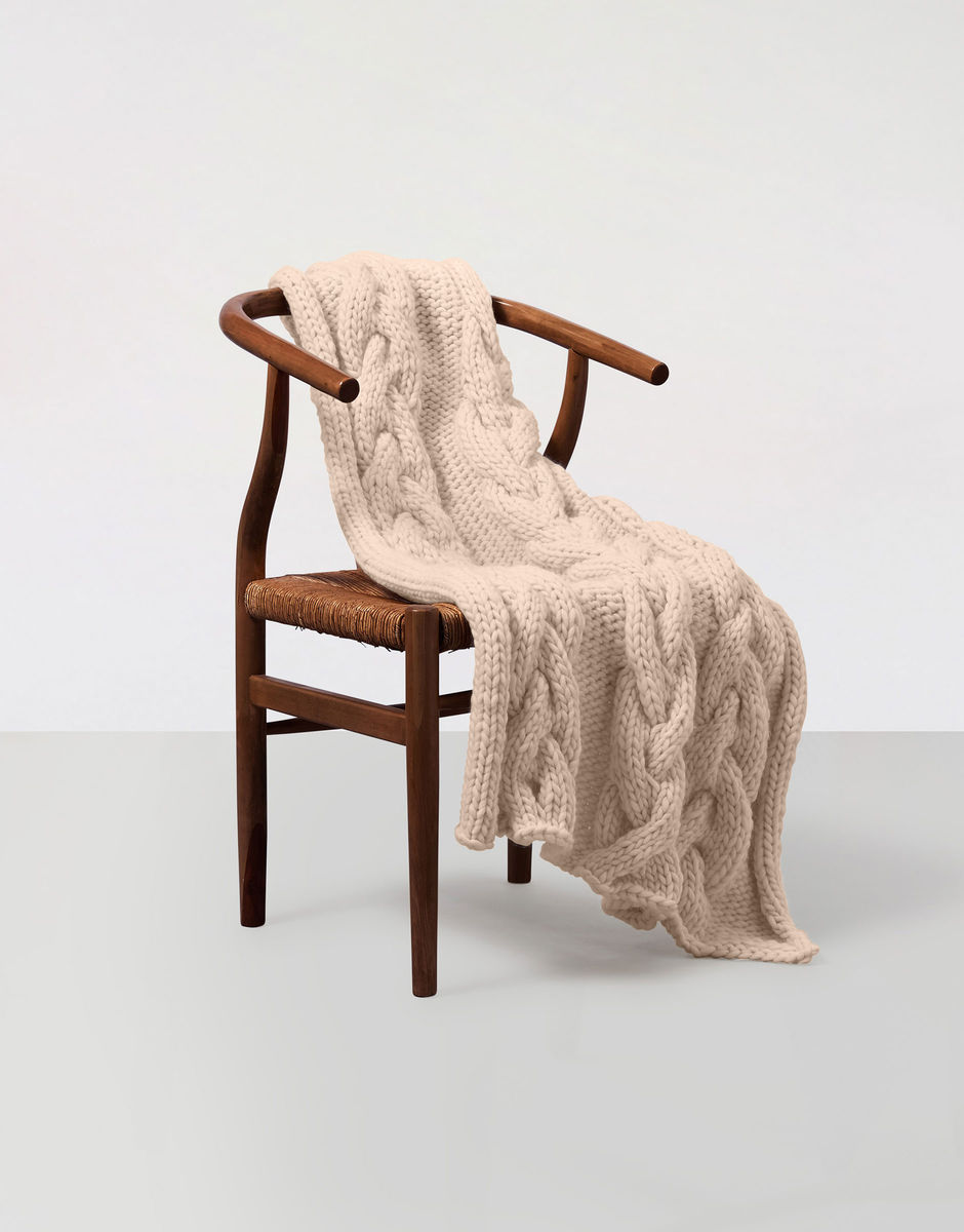 Egg Chair Roze.Let Go Blanket Wool And The Gang