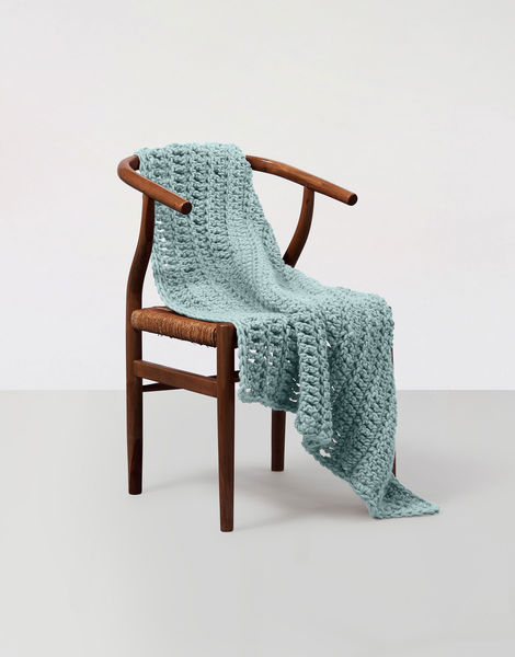 Moonglow blanket csw csw duck egg blue