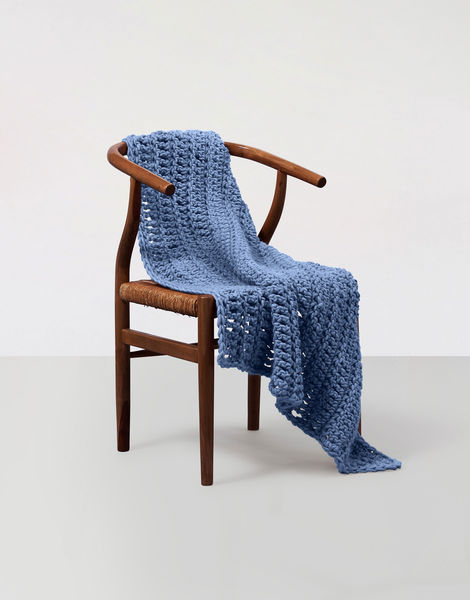 Moonglow blanket csw csw dusty denim