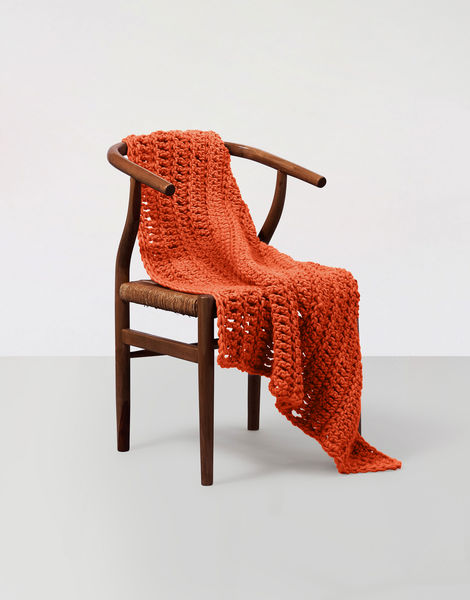 Moonglow blanket csw csw rusty orange