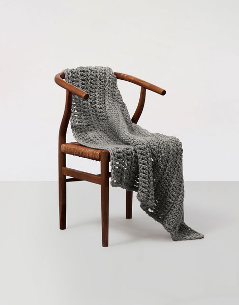 Moonglow blanket csw csw tweed grey