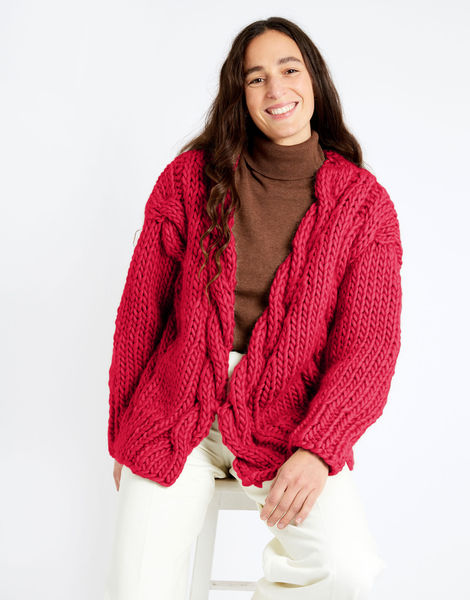 Robison cardigan csw csw candy red