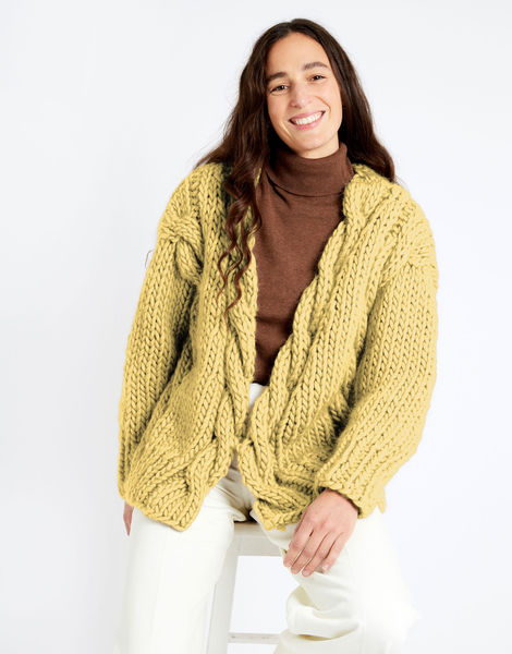 Robison cardigan csw csw chalk yellow
