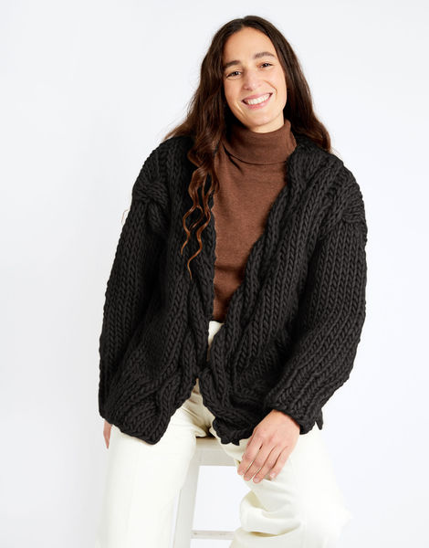 Robison cardigan csw csw charcoal