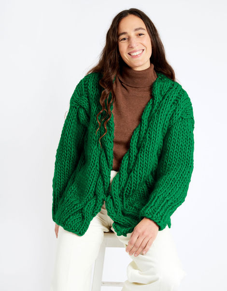 Robison cardigan csw csw emerald green