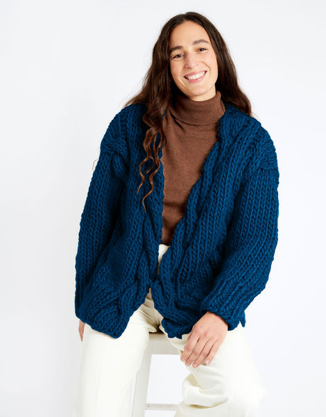 Robison cardigan csw csw curasao blue
