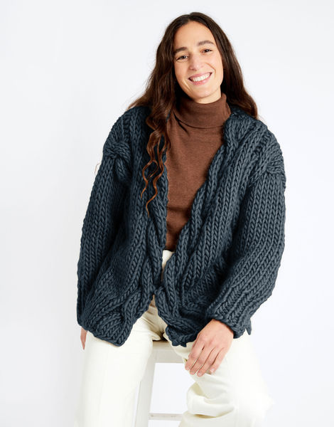Robison cardigan csw csw eagle grey