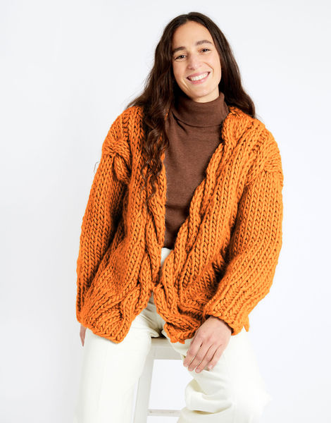 Robison cardigan csw csw fireball orange