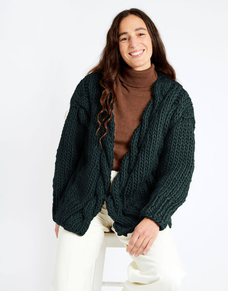 Robison cardigan csw csw forest green