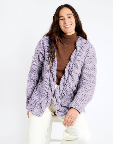 Robison cardigan csw csw lilac powder