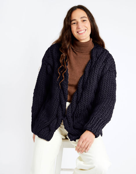 Robison cardigan csw csw midnight blue