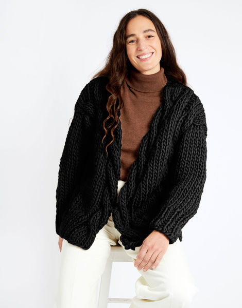 Robison cardigan csw csw space black