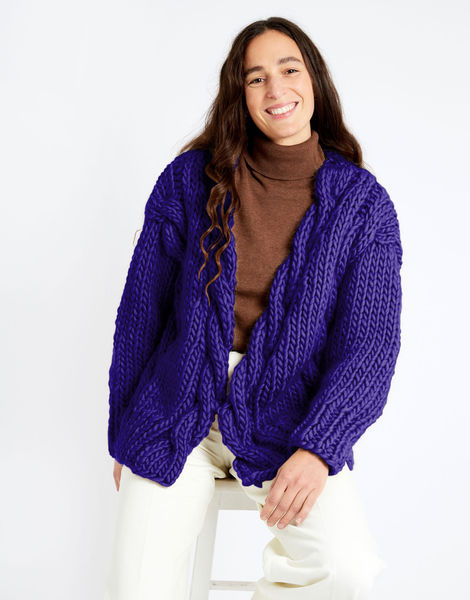 Robison cardigan csw csw ultra violet