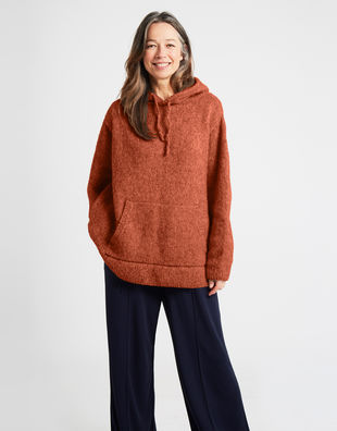 Blackout hoodie grey 5 feeling good yarn fgy terracotta blush