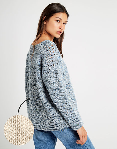 All night long tunic bjy ecru