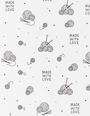 Watg wrapping paper white 01