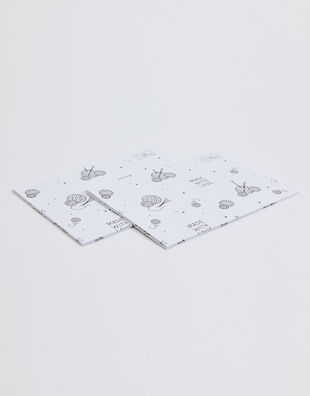 Watg wrapping paper white 02